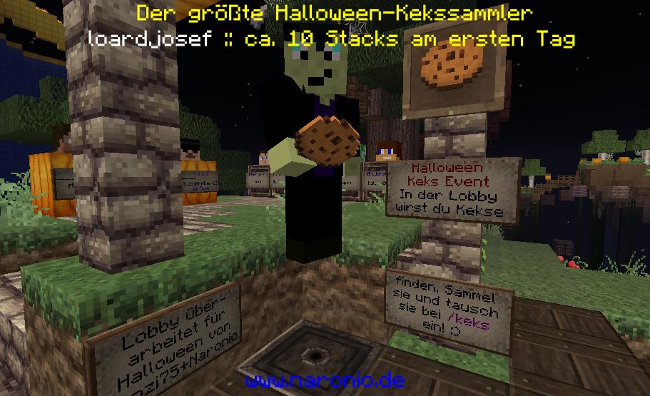 Der größte Halloween-Kekssammler